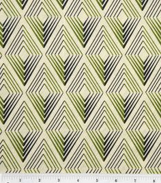 DS Quilts Collection Fabric-Daisy Mae Geo Check Olive Gray