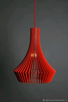 Lamp made of plywood DECANTER – shop online on Livemaster with shipping - Lampe Art Deco, Deco Luminaire, Laser Cut Lamps, Blitz Design, Buy Lamps, Room Lamp, Wooden Lamp, Unique Lamps, Ceiling Lamp