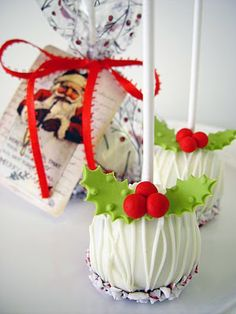 Peppermint Kissed Ditzie Pops