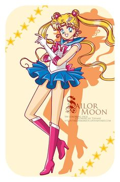 Sailor Moon by Selinmarsou