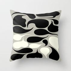 Bubbler Throw Pillow by simonfoo - $20.00
