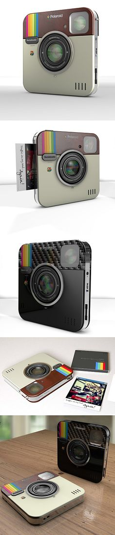 Socialmatic : Cool Instagram-Inspired Camera ✯ #tech #technology #gadgets #technologia #future #trends