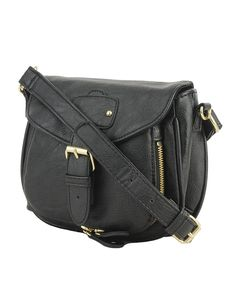 zipper pocket crossbody.