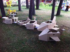 Play and grow: Картонные самолетики