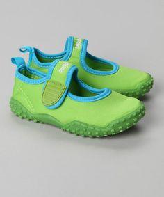 Green UV Protection #Aqua Shoes #Beach
