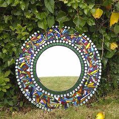 Garden Mosaic Mirror - Folksy                                                                                                                                                                                 More