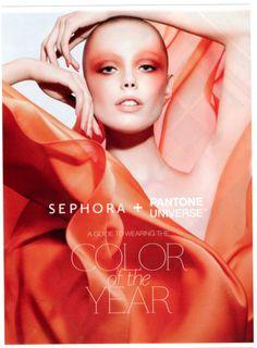 Sephora and Pantone's Tangerine Tango