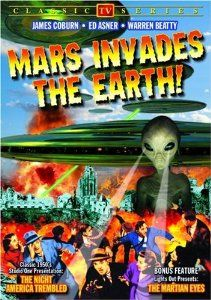 """Mars Invades The Earth: The Night America Trembled (1957) / The Martian Eyes from """"""""Lights Out"""""""" (1950) (2006)"""