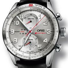 ORIS Audi Sport Limited Edition Racing lines (See more at En/Fr/Es: http://watchmobile7.com/articles/oris-audi-sport-limited-edition) #watches #montres #relojes #oris @oris