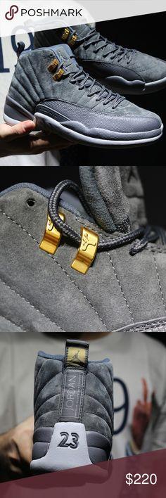 "Air Jordan 12 ""Wolf Grey"""