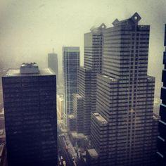 Storm arrives. - photo by @joelmmathis