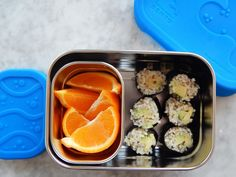 "Cooking Light writes: ""With a name like Blue Water Bento, it shouldn't surprise you that this lunch box is labeled ""ocean friendly."" The easy-open lid is perfect for small hands, but seals tightly enough that it can be thrown into a backpack or tote bag without a second thought."""
