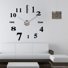 New Your Life Modern Style Novelty EVA DIY Sticker Wall Clock, View DIY Sticker Wall Clock, JUJIA Product Details from Hubei Jujia Trade Co., Ltd. on Alibaba.com