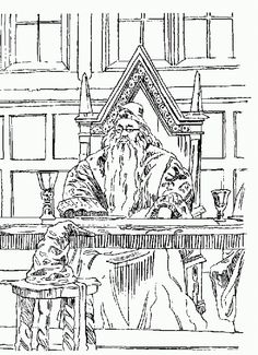 harry potter and the philosophers stone free printable coloring pages no 12 - Coloring Book Printables