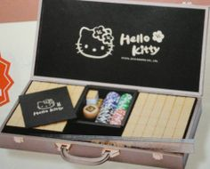 Hello Kitty Rabbit Year Mahjong Game Set