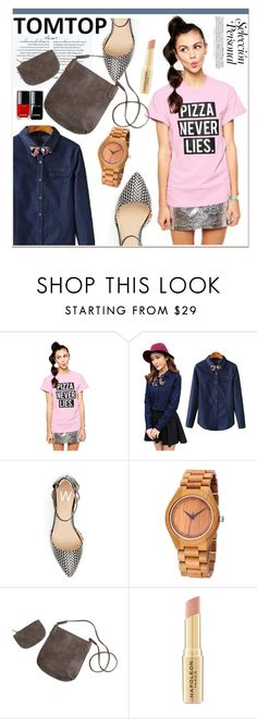 """""""TOMTOP +30"""" by lejla-7 ❤ liked on Polyvore featuring Napoleon Perdis, vintage, tomtop and tomtopstyle"""