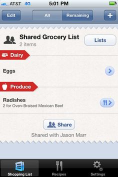 My fav app! So easy to use and keeps you organized!