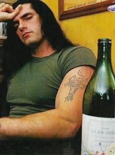 peter steele posts - For The Love Of Pete Type 0 Negative, Happy Wine, Doom Metal Bands, Metalocalypse, Jeff Buckley, Peter Steele, Famous Men, Green Man, Sexy Men