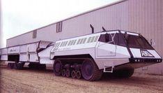 martin-marietta and caterpillar build mobile missile launcher Martin Marietta, Snow Vehicles, Armored Truck, Future Trucks, Road Train, Expedition Vehicle, Military Weapons, Armored Vehicles, Heavy Equipment