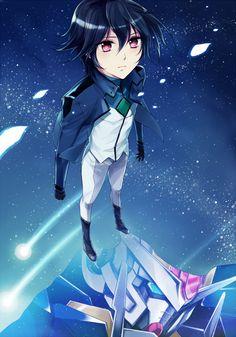 Tags: Anime, Mobile Suit Gundam 00, Setsuna F. Seiei, Gundam Meisters, Anz