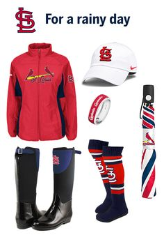 Rainy day in St. Louis? We've got you covered. Check out the MLB online shop for your favorite teams gear that's fit for any occasion!
