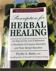 Herbal Healing book