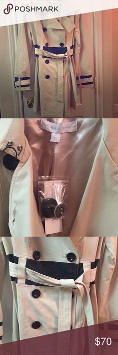 BRAND NEW NY&C Trench Coat BRAND new with tags! New York & Company Jackets & Coats Trench Coats