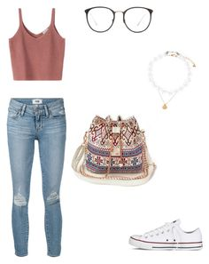 """Untitled #26"" by princessd145 on Polyvore featuring Converse, Paige Denim, Accessorize and Linda Farrow"