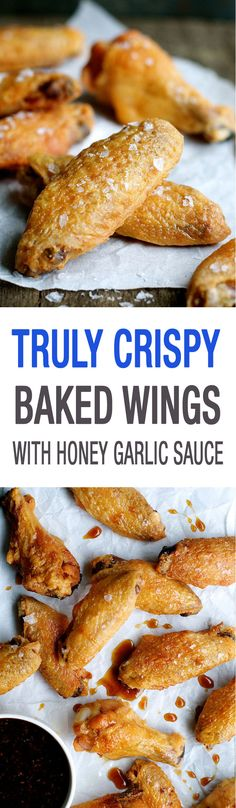 You will be SHOCKED how crispy these are. Super easy to make a Cook's Illustrated recipe. And lower calories not just because they're baked but also because the fat is rendered out  baking at a low temperature!