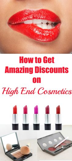 Read this to find the best discounts on high end cosmetic brands like Urban Decay, Stila, Smashbox, Too Faced, and more!