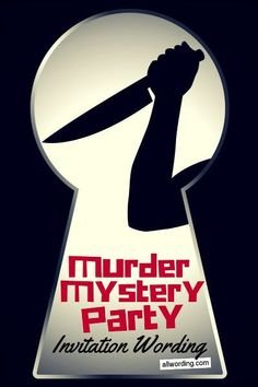 Hosting a whodunnit? Here are some ideas for murder mystery invitation wording, including general tips and specific examples. Murder Mystery Games, Murder Mysteries, Mystery Novels, Cozy Mysteries, Clue Themed Parties, Teen Party Games, Teen Parties, Mystery Dinner Party, Invitation Wording