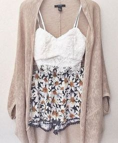 printed high waisted shorts <3