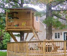 kids tree house ideas | Tree House
