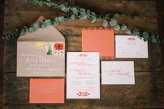 Paso Robles Wedding From Jen Rodriguez + Adornments Flowers and Finery Personalised Wedding Invitations, Wedding Stationery, Invites, Wedding Paper, Our Wedding, Wedding Ideas, California Wedding, Paper Goods, Invitation Design