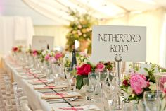 Table trestles are perfect for putting things on such as flower displays