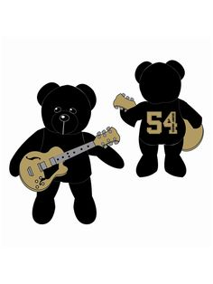 54th Grammy Bear With Guitar