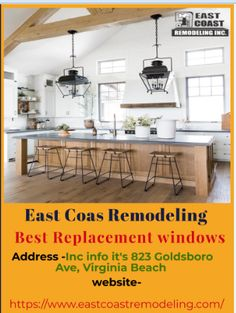 Replacement windows and door can seem stressful many time—but it doesn't have to be. East Coast Remodeling offers you the best quality products and services. Best Replacement Windows, Door Replacement, Casement Windows, Windows And Doors, Energy Star Windows, Window Company, Best Windows, Exterior Siding, Vinyl Siding