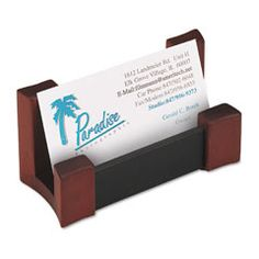 Modern Business Card Display