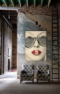 Home House Interior Decorating Design Dwell Furniture Decor Fashion Antique Vintage Modern Contemporary Art Loft Real Estate NYC London Paris Architecture Furniture Inspiration New York YYC YYCRE Calgary Eames StreetArt Building Branding Iden Industrial Living, Industrial House, Industrial Interiors, Industrial Style, Industrial Design, Industrial Bedroom, Vintage Industrial, Industrial Wallpaper, Industrial Stairs