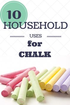 Movers.com - Top 10 Uses for Chalk in Your Home