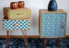 Cabinet din lemn de brad, Portofino F049 #homedecor #inspiration #shabbychic #inspiration Shabby Chic, Nightstand, Vintage, Cabinet, Modern, Furniture, Home Decor, Retro Design, Bedroom