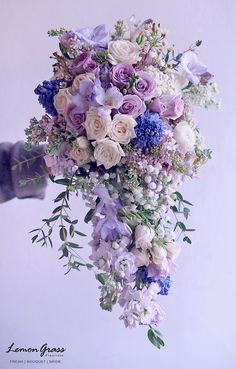 Ultra violet is the Pantone color of the year. This soft assorted colors are romantic and beautiful. Let Our artisan floral designers create a bouquet for you inspired by this years hot colors Fantasy Flowers Thiensville 262-242-3732