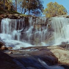 Reedy River Falls in downtown Greenville.  Instagram photo by Chad M // yeahthatgreenville