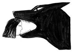 Черная сука по имени Хандра: метафорический комикс о депрессии — Журнал «Нож»