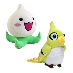 OVERWATCH: Choose between some of the cutest plushies this side of Dorado. Cuddle your way to victory with either Ganymede or Pachimari. PACHIMARI COMES WITH A SQUEEKER!!!