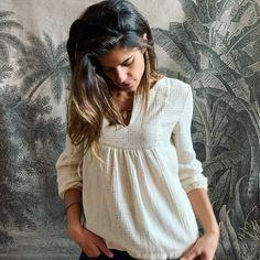 Robes Vintage, Diy Wardrobe, Creation Couture, Shirt Blouses, Shirts, Dress Codes, Dresses, Crochet, Bijoux Diy