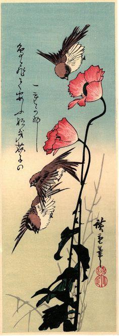 Japanese Ukiyo-e Woodblock print Ando Hiroshige...