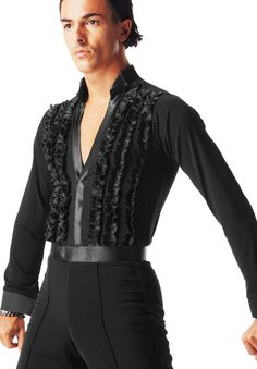 Taka Mens Shirt MS285 | Dancesport Fashion @ DanceShopper.com