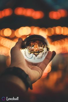 Perfect carousel capture with Lensball Magical Photography, Night Photography, Creative Photography, Nature Photography, Abstract Photography, Photography Ideas, Depth Of Field Photography, Mixed Media Photography, Fantasy Landscape