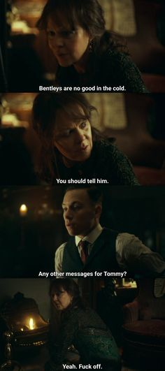 Rude Quotes, Tv Quotes, Movie Quotes, Peaky Blinders Tv Series, Peaky Blinders Quotes, Aunt Polly Peaky Blinders, Series Movies, Movies And Tv Shows, Steven Knight